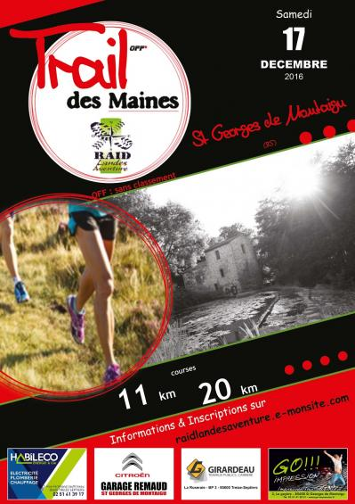Affiche trail st georges