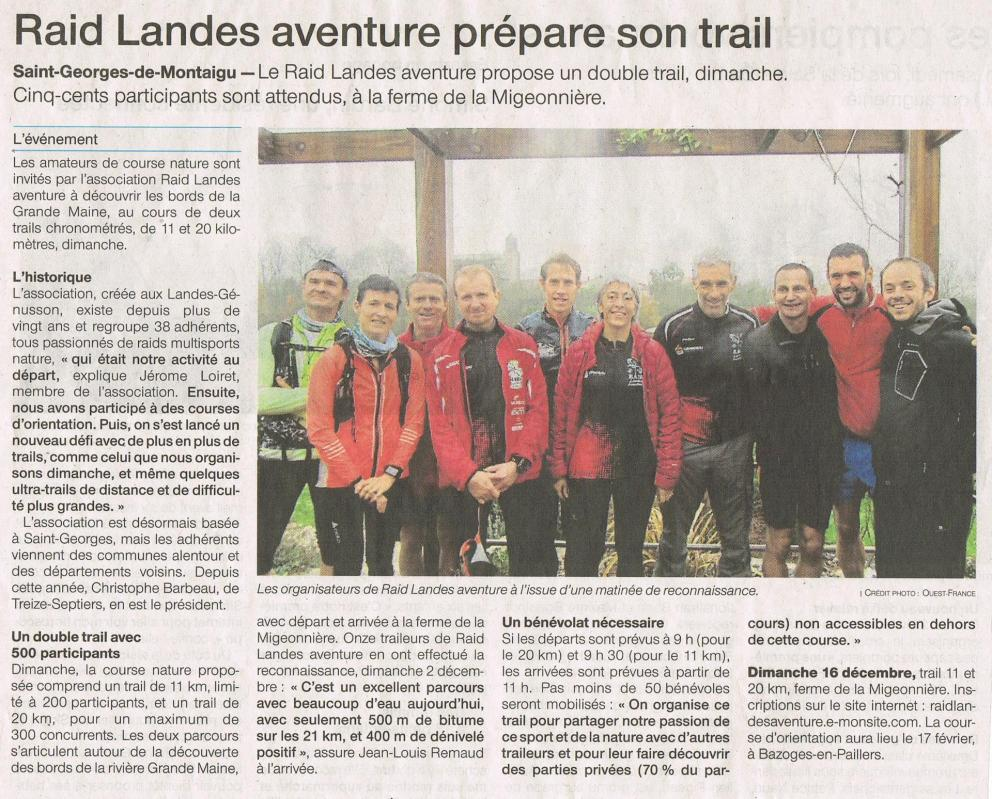 Article presse trail 16 12 2018