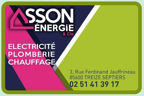 Logo asson energie